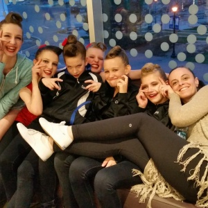 Towards the end of a long day, dancers (and their teacher) were getting silly. I love to see them having fun with Miss Maria!